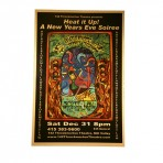 """2005 NYE Soiree """"Heat It Up"""" Poster (band signed)"""