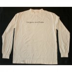 Less Guns, More Butter organic long-sleeve T-shirt