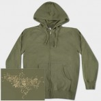 Mens Fleece Zip Hoody